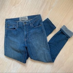 Free People Denim High Waisted Jeans